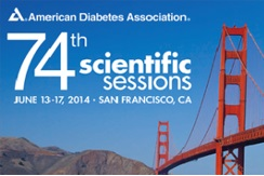 74th Scientific Sessions of American Diabetes Association (13. - 17. 6. 2014)