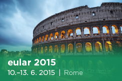 Annual European Congress of Rheumatology EULAR 2015 (10. - 13. 6. 2015)