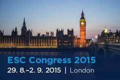 European Society of Cardiology Congress 2015 (29. 8. - 2. 9. 2015)