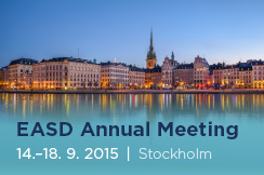 European Association for the Study of Diabetes Annual Meeting (14. - 18. 9. 2015)