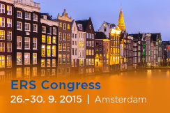 European Respiratory Society International Congress (26. - 30. 9. 2015)